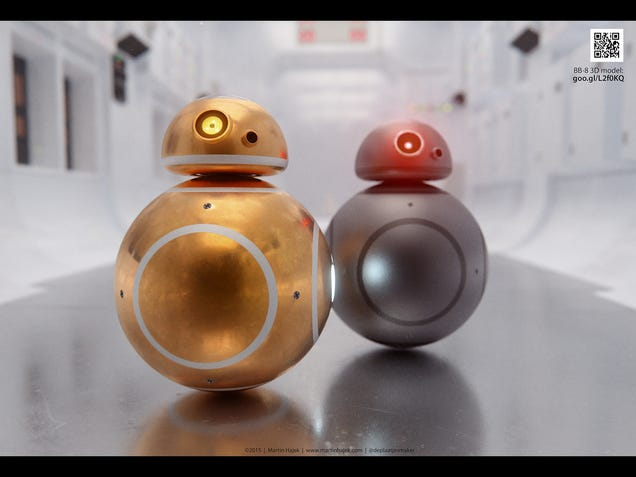 If Apple Made BB-8 Droids, They'd Be Adorable