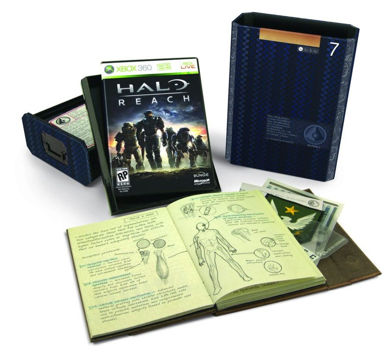Win One Of Three Legendary Editions of Halo: Reach