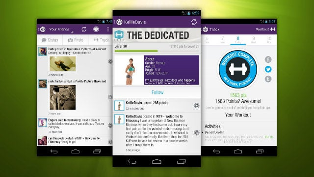 Fitocracy for Android Tracks Your Workout, Connects You to Friends and Groups on the Go