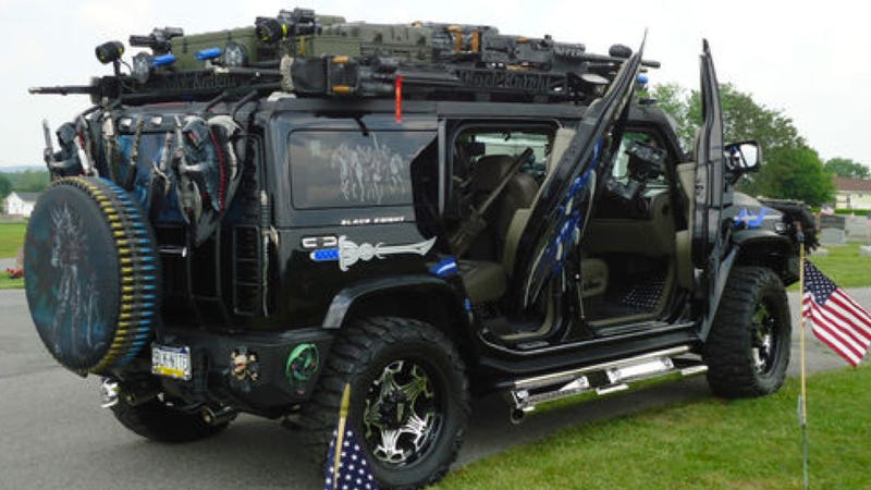 Ugly Custom Hummer: Pictures