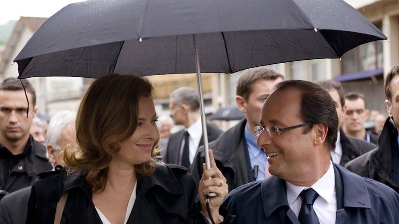 Valerie Trierweiler Pisses Off François Hollande's Kids