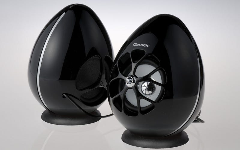 Daily Desired: How Can You Resist a Pair of Adorable, Egg-Shaped Speakers?