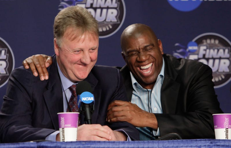 Larry Bird Has Only Cried Three Times In His Life, And Each Time Was Because Of Magic