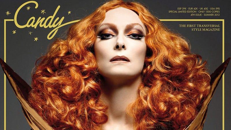 Tilda Swinton Covers Transsexual Fashion Magazine