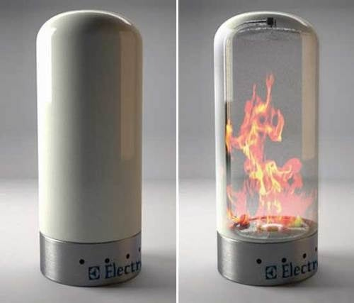 Electrolux Brings Us One Step Closer To a Fireplace In a Can