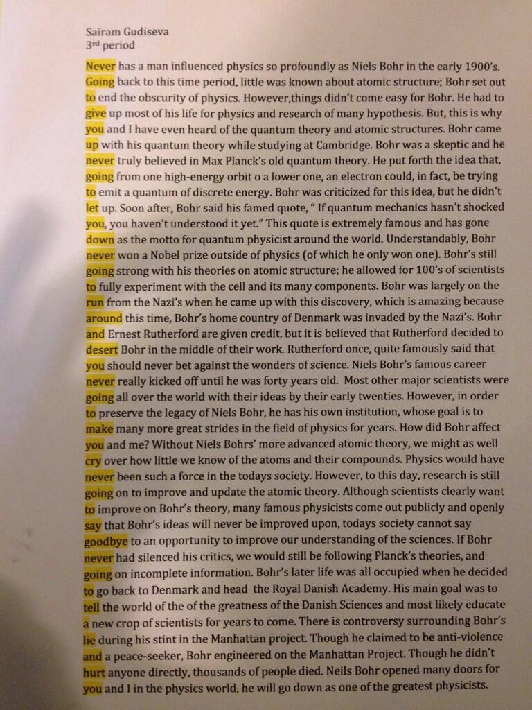 Student Rickrolls his teacher in this ingenious quantum physics essay