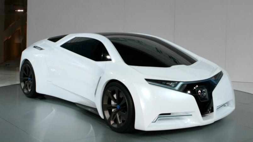 Honda fc sport hydrogen sports car concept of the future for Sporty honda cars