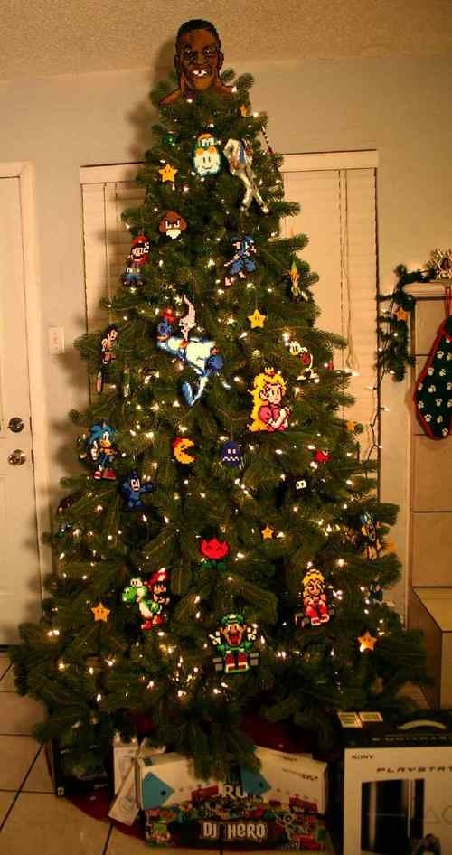 A Star, Not an Angel, Atop This Tree