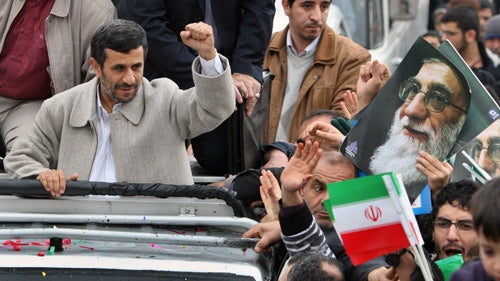 Is Ahmadinejad on His Way Out?