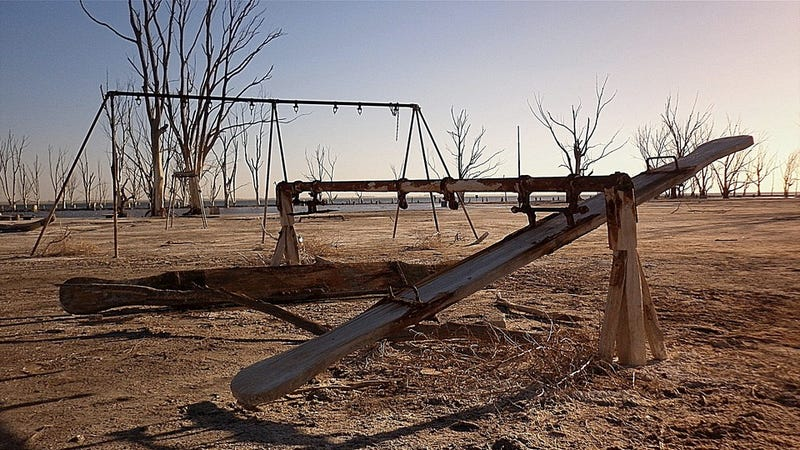 This Argentinian tourist village sat underwater for 25 years