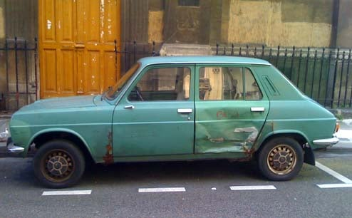 Malaise Is A French Word: 1979 Simca Talbot 1100 In Paris