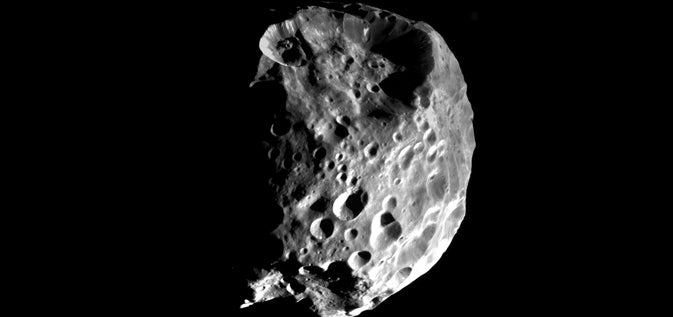 Saturn's moon Phoebe could have been a planet