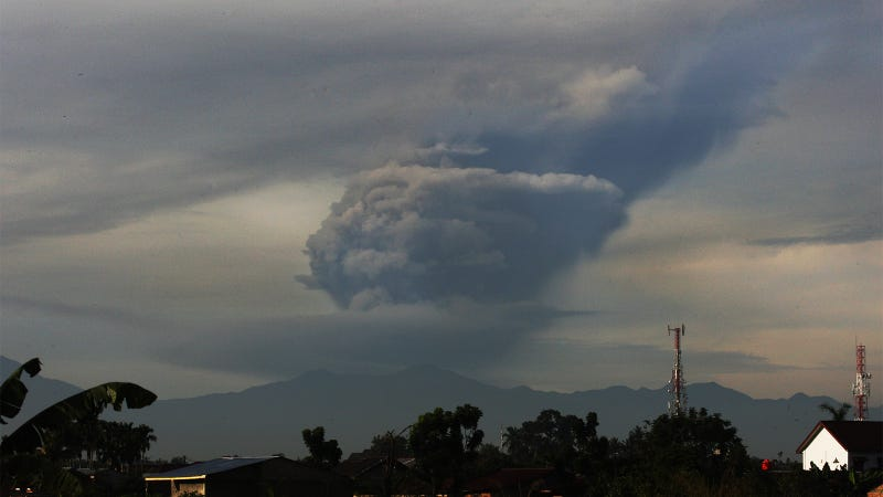 Incredible photos show terrible aftermath of Sumatra volcano eruption