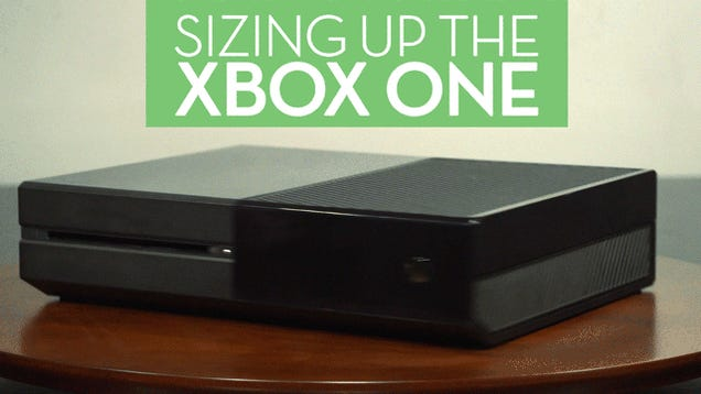 The Xbox One Is Huge Compared To Other Consoles