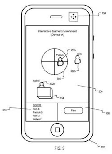 Apple's New Gaming Patent Would Allow iPhone Laser Tag
