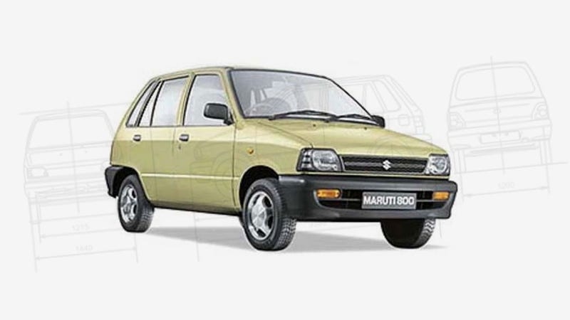 India's Ubiquitous Maruti 800 Ends Production After 30 Years