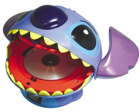 Oh Joy! Stitch CD Player Rocks My Tiny, Childlike Brain