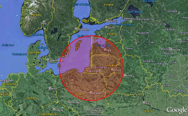 Russia's Buildup Of S-400 Missile Batteries In Kaliningrad Is Freaking Out NATO