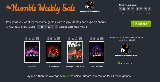 Amazon Game Download Blowout, Steam Sale, Humble Weekly Sale [Deals]