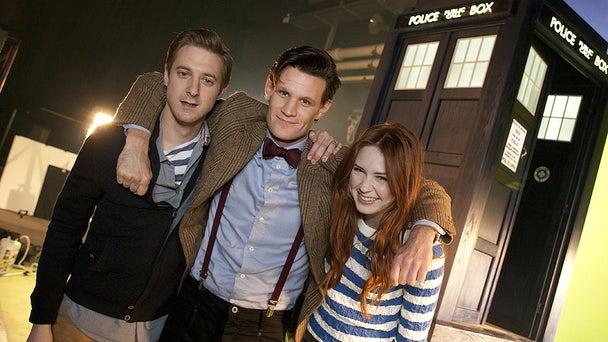 Doctor Who Begins Filming Gallery