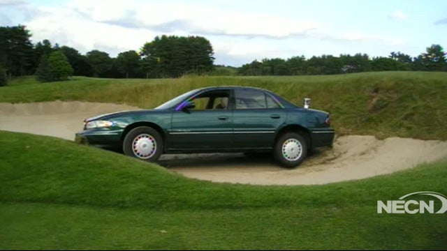 Drunk Woman Blames GPS After Driving Her Buick Into Sand Trap
