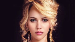 Jennifer Lawrence and Scarlett Johansson morphed into one person