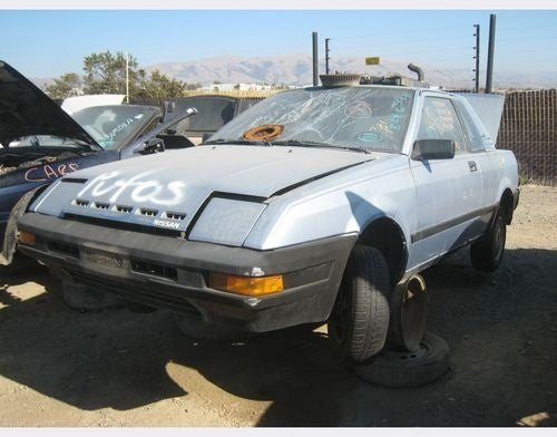 1984 Nissan Pulsar NX Down On The Junkyard