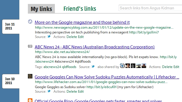 Trunk.ly Indexes The Links You and Your Friends Share on Social Networks