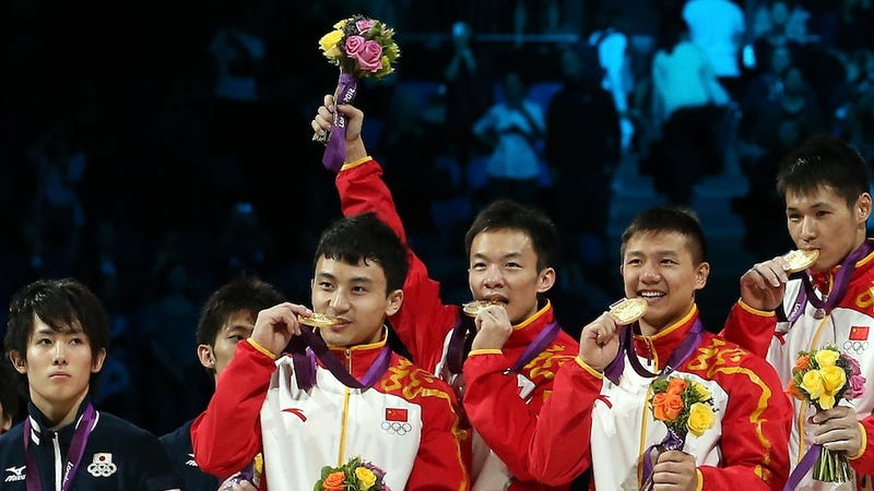 Men's Gymnastics Team Final: Team USA Stumbles, China Soars, And The Officials Vault Japan Over Britain