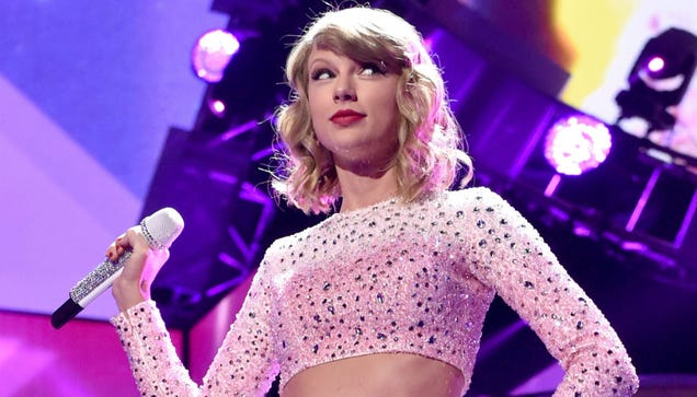 Taylor Swift Tops Canadian Chart With Nothing But White Noise