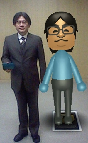There Are Huge 3DS AR Cards. They Make Life-Sized Miis.