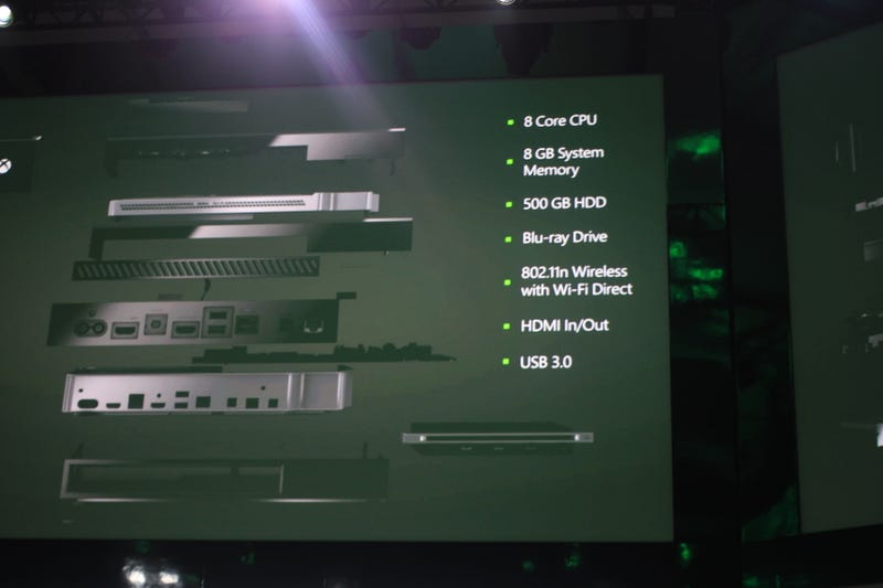 Xbox One: All the Nerdy Details You Don't Know Yet