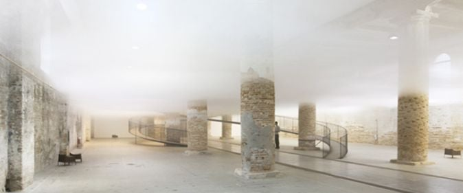 There Is a Real Cloud Trapped Inside This Building