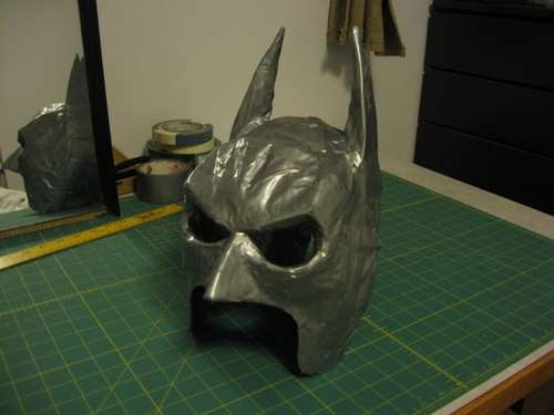 Use No. 7,853 For Duct Tape: Intricately Sculpted Batman Mask