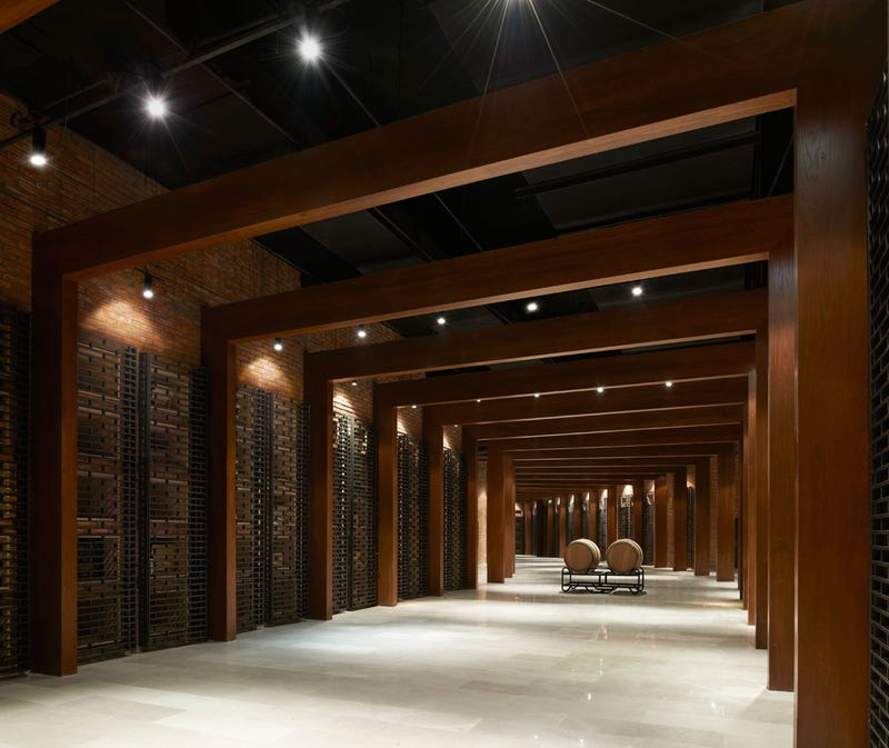 A Chinese Winery That Mimics Everyone's Favorite Five-Armed Glyph