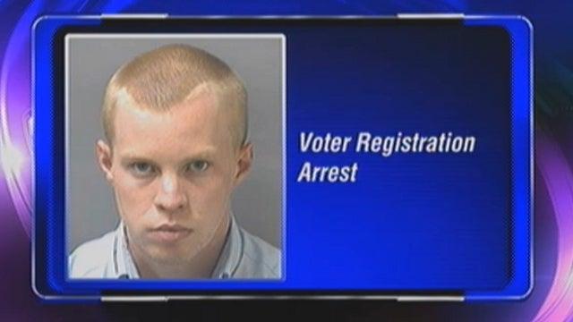 Authorities Arrest GOP Contractor For Throwing Away Voter Registration Forms