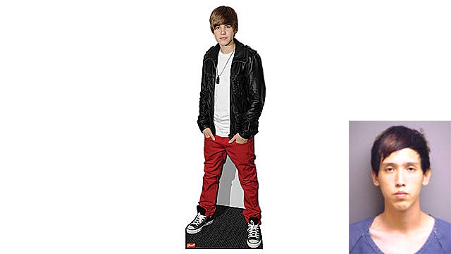 Justin Bieber Cutout Heist Goes Horribly Wrong