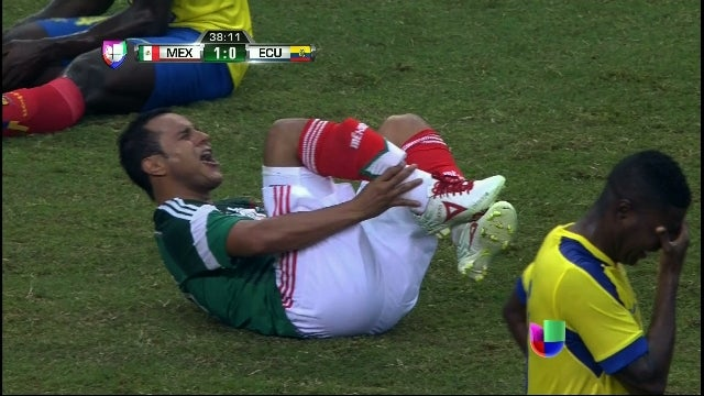 Video Kecelakaan Horror Sebabkan Pemain Meksiko Absen Piala Dunia