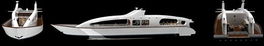 Personal Luxury Submersible Yachts