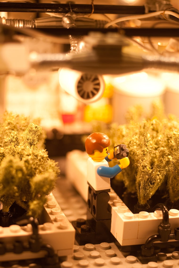 LEGO Grow Lab