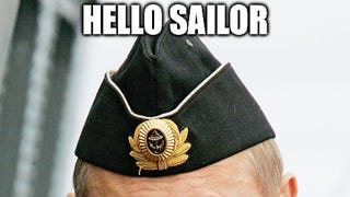 Mr Putin goes to sea