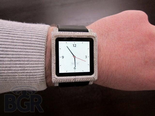 Lipstick, Meet Pig: The $18,000 Diamond-Encrusted iPod nano Watch Now Exists