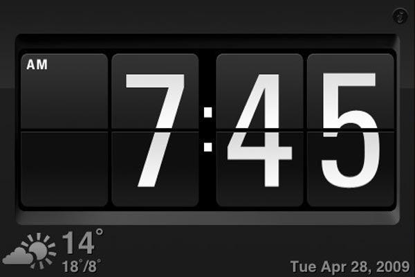 Kensington Nightstand Dock Converts iPhone In Retro Alarm Clock