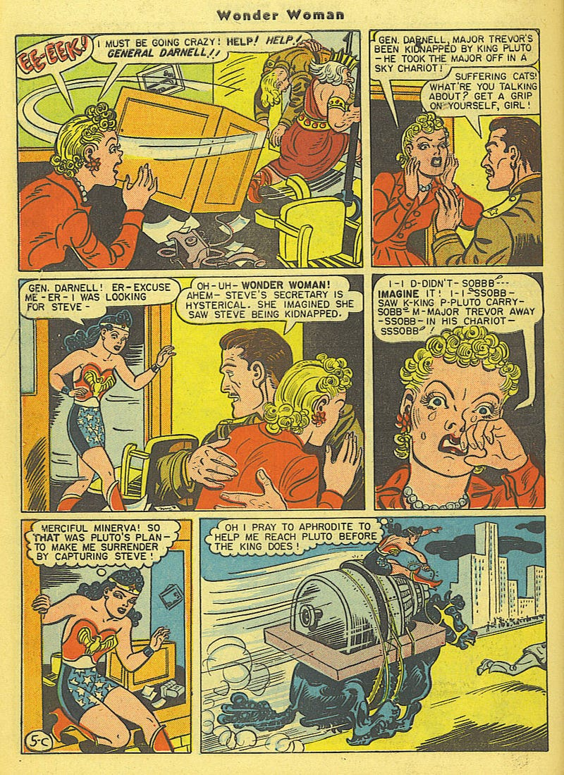 Why Early Wonder Woman Was A Champion Of Feminism... And Bondage