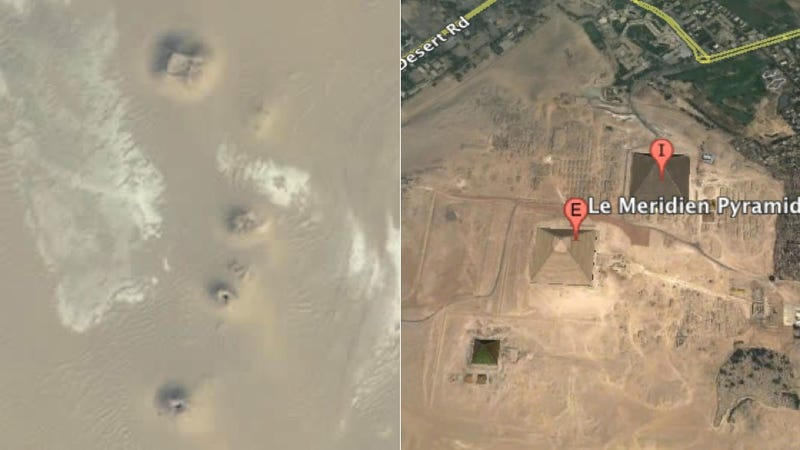 Lost Egyptian Pyramids Appear on Google Earth
