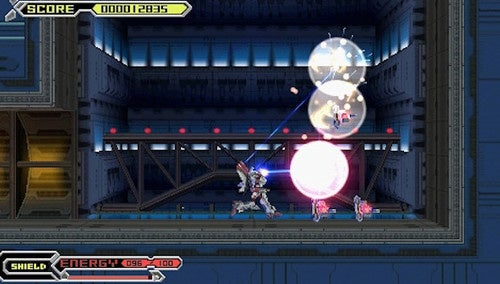 Thexder-Neo PSP Impressions: Classic Robot Action