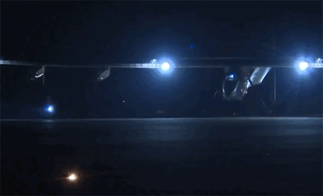Solar Impulse Just Took Off in the Dark to Head from Mandalay to China