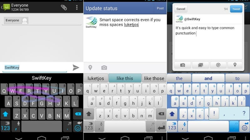 SwiftKey 4, Vector, and More