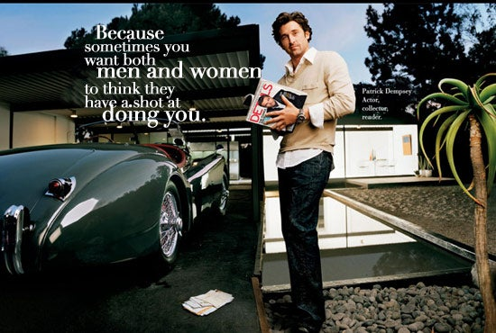 Patrick Dempsey Shills For Conde Nast