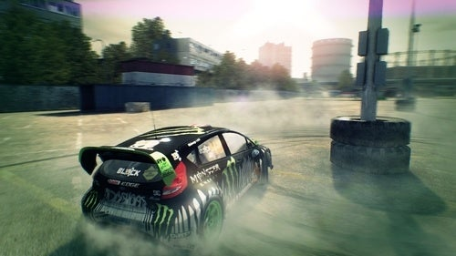 Get To The Gym With DiRT 3